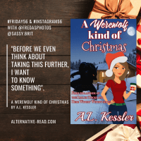 Hoping for a Christmas miracle #Friday56 A Werewolf Kind of Christmas by A.L. Kessler @A_L_Kessler #BookBeginnings