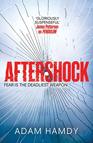 Aftershock by Adam Hamdy Cover on Amazon