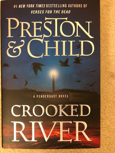 Preston and Child - Crooked River Cover