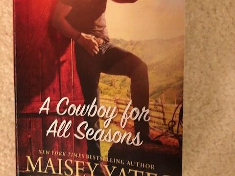 A Cowboy for All Seasons by #CaitlinCrews, #NicoleHelm, #MaiseyYates, and  #JackieAshenden