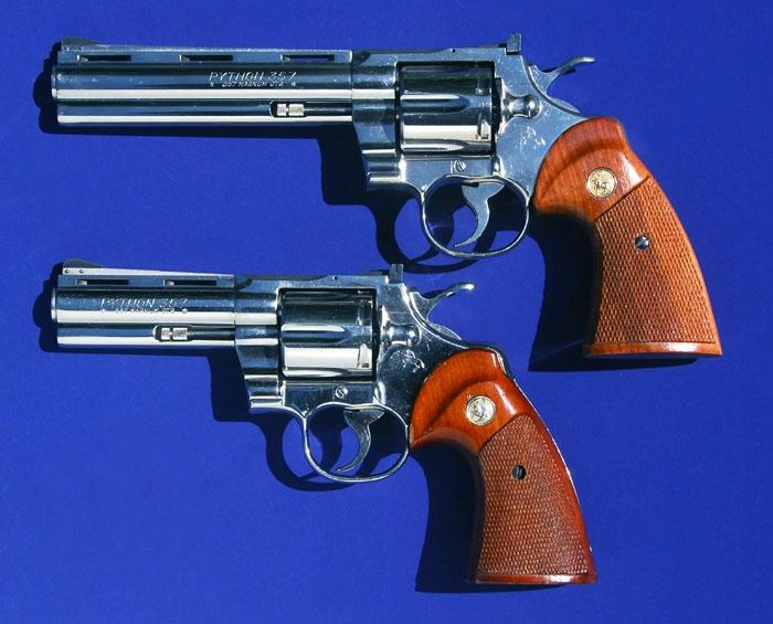A Colt Python - The original uploader was Jeff Dean at German Wikipedia. / Attribution