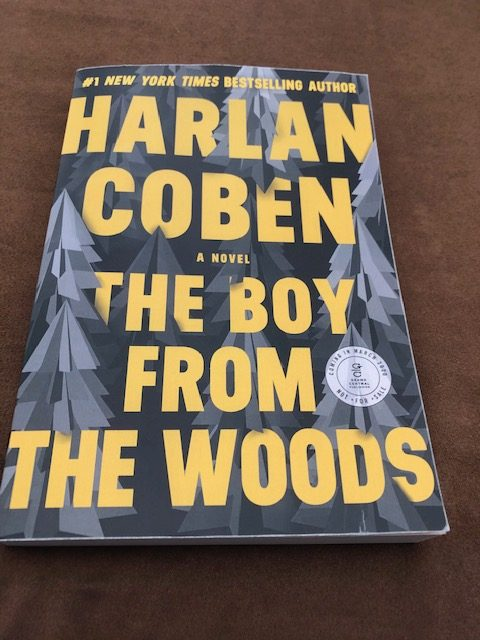 Harlan Coben - The Boy From The Woods - Cover