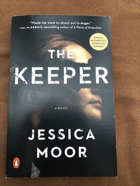 The Keeper by Jessica Moor COVER Pic