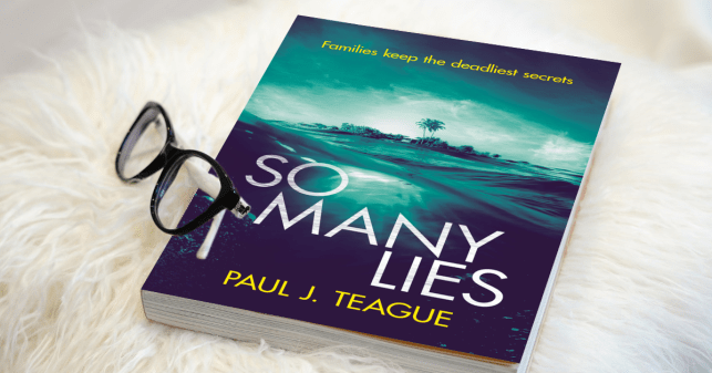 So Many Lies by Paul J. Teague - Book tour
