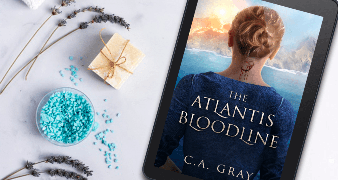 The Atlantis Bloodine by author C.A. Gray