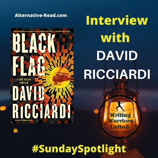 Black Flag by David Ricciardi - First line, first chapter, prologue