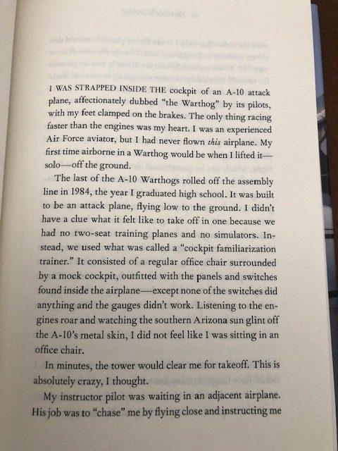 Dare To Fly by Senator Martha McSally #novel #senator #authobiography on #AltRead