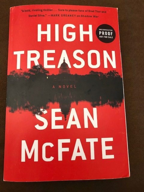 High Treason (Tom Locke) by Sean McFate - Teaser Tuesday #FirstChapter #FirstParagraph #TuesdayTeaser