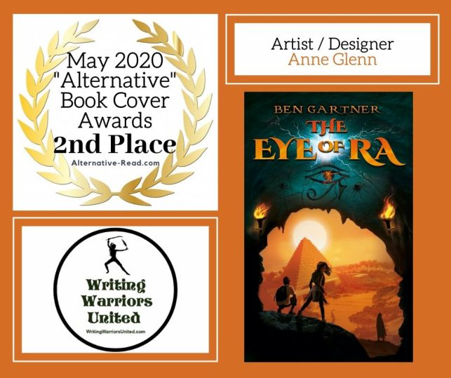 The Eye of Ra - 2nd Place BCA MAY WINNER #AltRead #Bookcover #BookCoverAwards