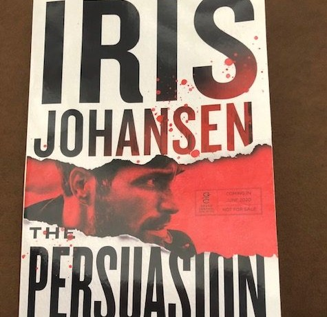 The Persuasion by Iris Johansen #mystery #thriller #irisjohansen