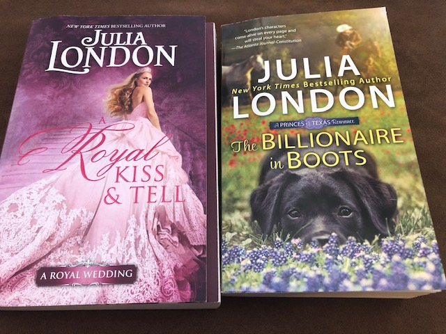 A Royal Kiss & Tell and The Billionaire in Boots by Julia London