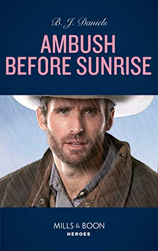 Ambush Before Sunrise by B.J. Daniels 2nd Book Cover - UK