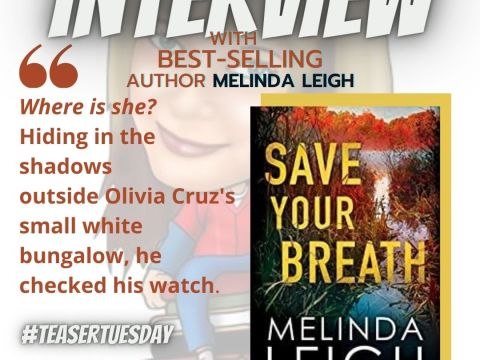 Save Your Breath by Melinda Leigh (Morgan Dane Book 6) Teaser Tuesday