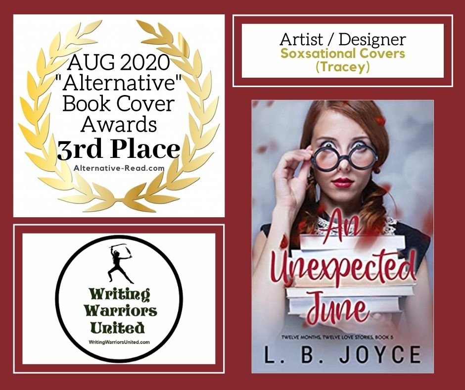 An Unexpected June (Twelve Months, Twelve Love Stories) by L.B. Joyce 3rd place book cover winner