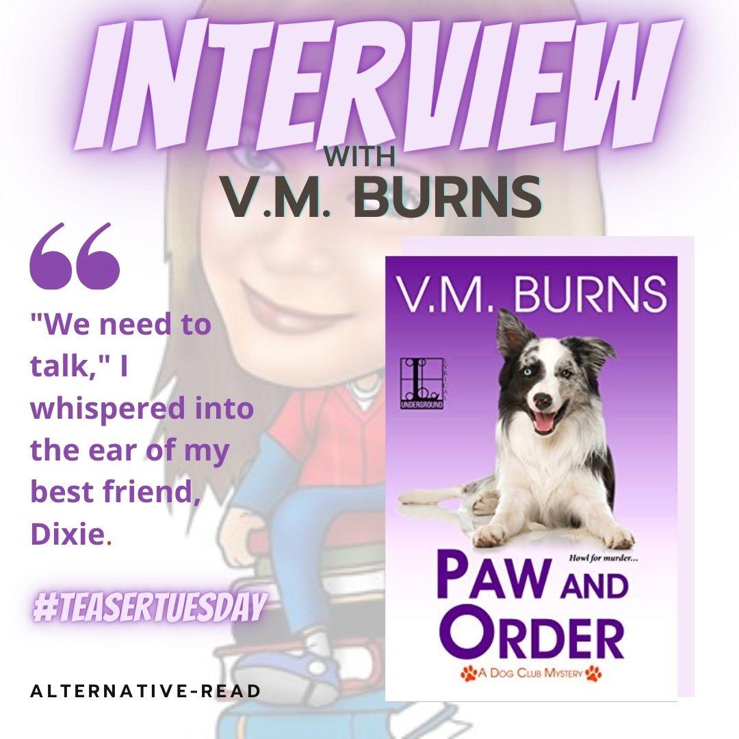 Interview with VM Burns - Instagram Post