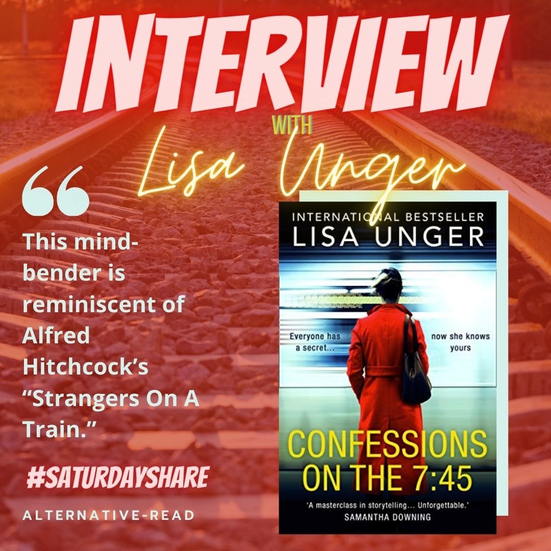 Confessions On The 7.45 by Lisa Unger - Instagram post