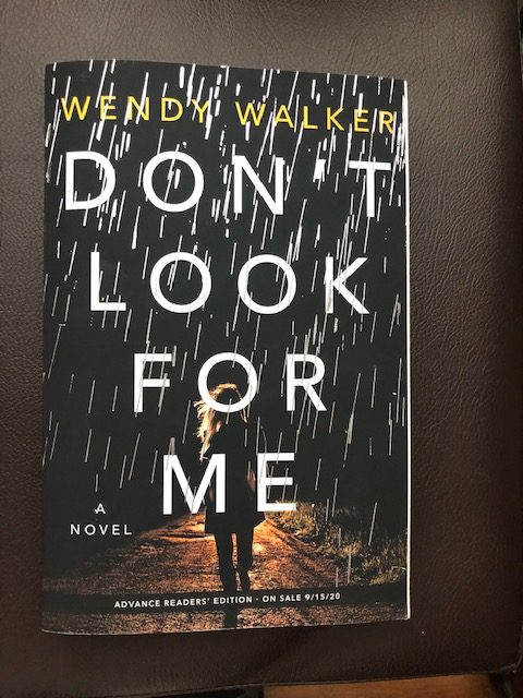 Don't Look For Me by Wendy Walker - First Chapter - Instagram Post