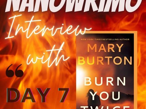 Day 7 Nano Chat - Instagram Post - Interview with Mary Burton
