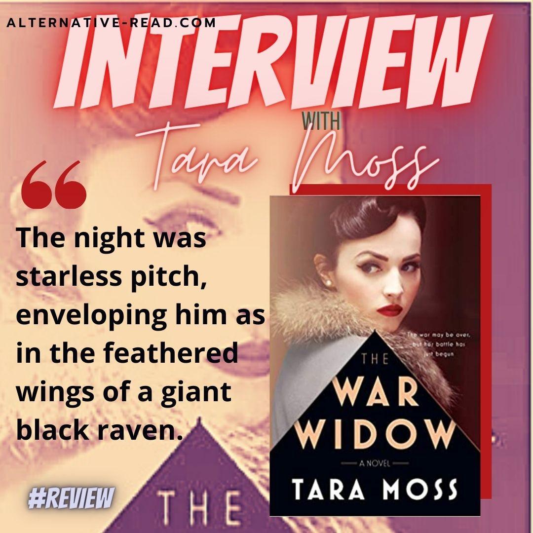 Tara Moss The War Widow Interview - Instagram Post