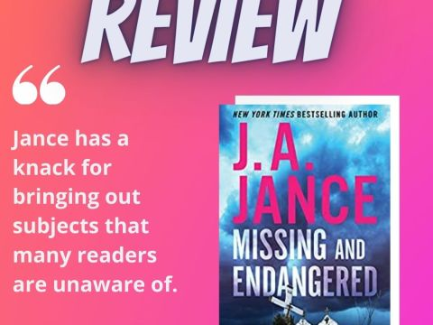 J.A. Jance Interview and Review, plus Friday 56 and Book Beginnings post!