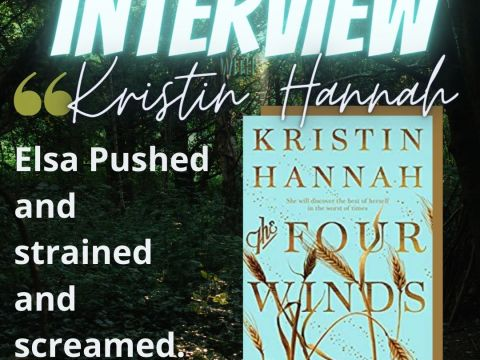 Kristin Hannah Interview - Instagram Post