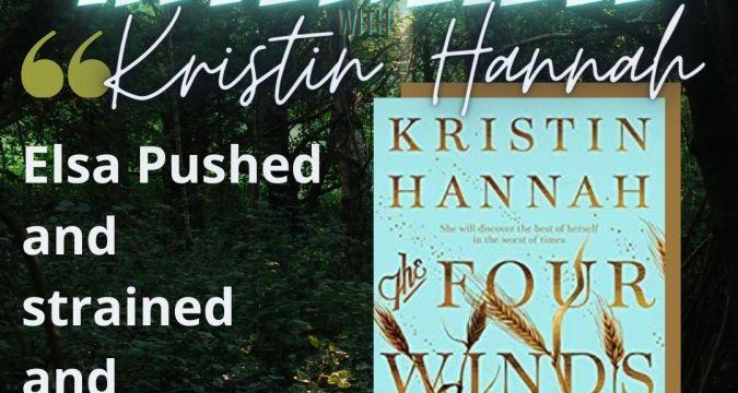 Kristin Hannah Interview - Instagram Post