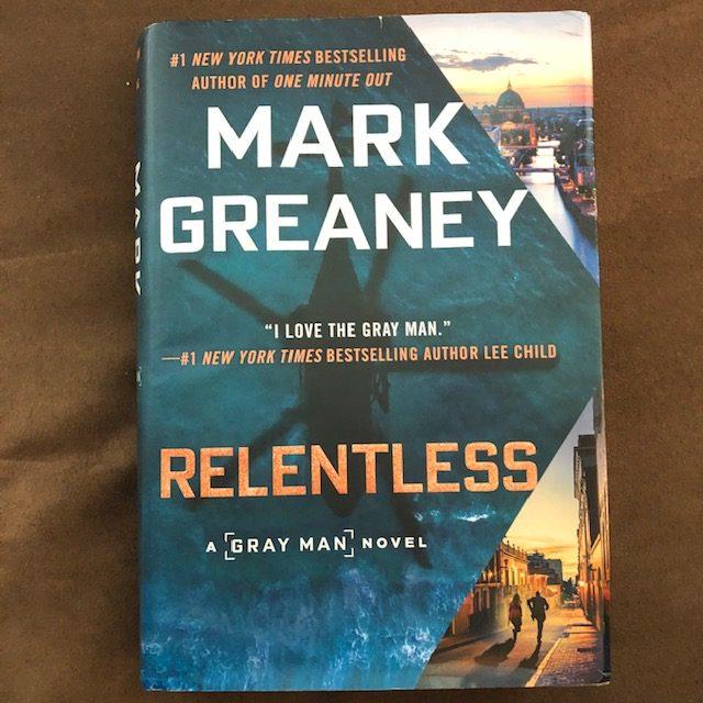 Mark Greaney Relentless Book Cover