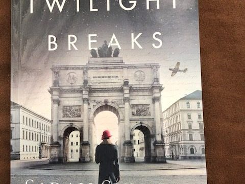 When Twilight Breaks by Sarah Sundin Instag Cover