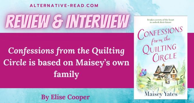 Confessions from the Quilting Circle by Maisey Yates Review and interview Twitter