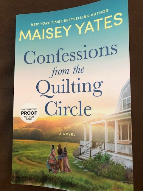 Confessions from the Quilting Circle by Maisey Yates - Amazon #altread #interview #review