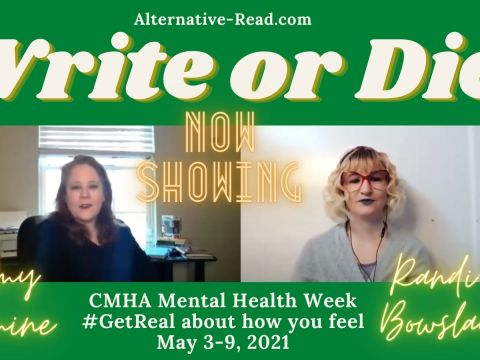 Write or Die Randi-Lee Bowslaugh interviews author Amy Romine about her anxiety and depression.