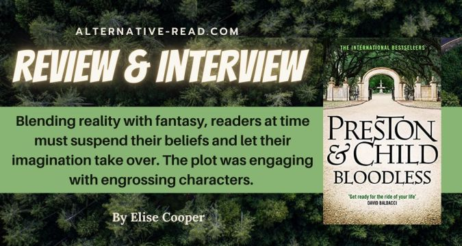 Preston and Child - Bloodless Saturday Share - Review and Interview
