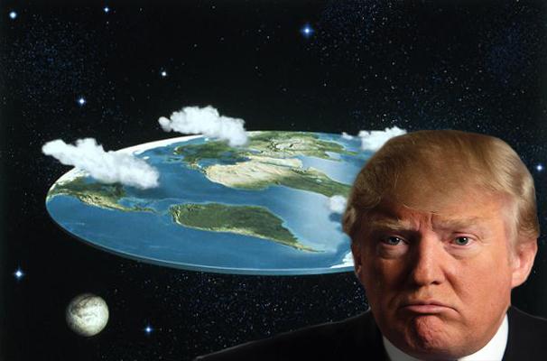 Trump Announces U.S. Will Celebrate Flat Earth Day Instead
