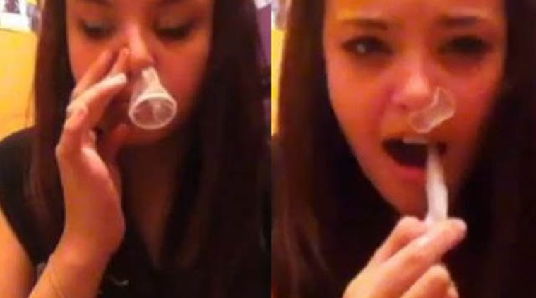 Teen gets pregnant after snorting condoms at a party
