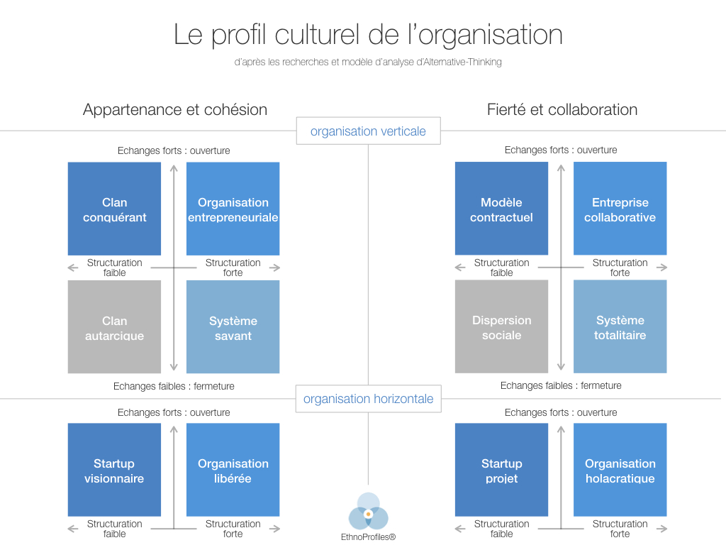 Alternative Thinking - profils culturels organisationnels