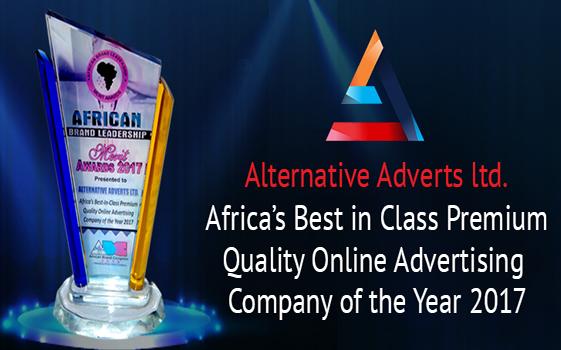 Alternative advert award 2017