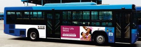 brt bus branding brt and bus tv advert rates