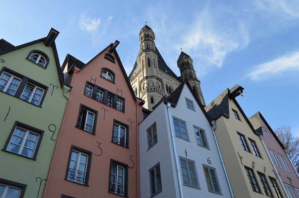 Bunte Häuser, Stadtführung Köln