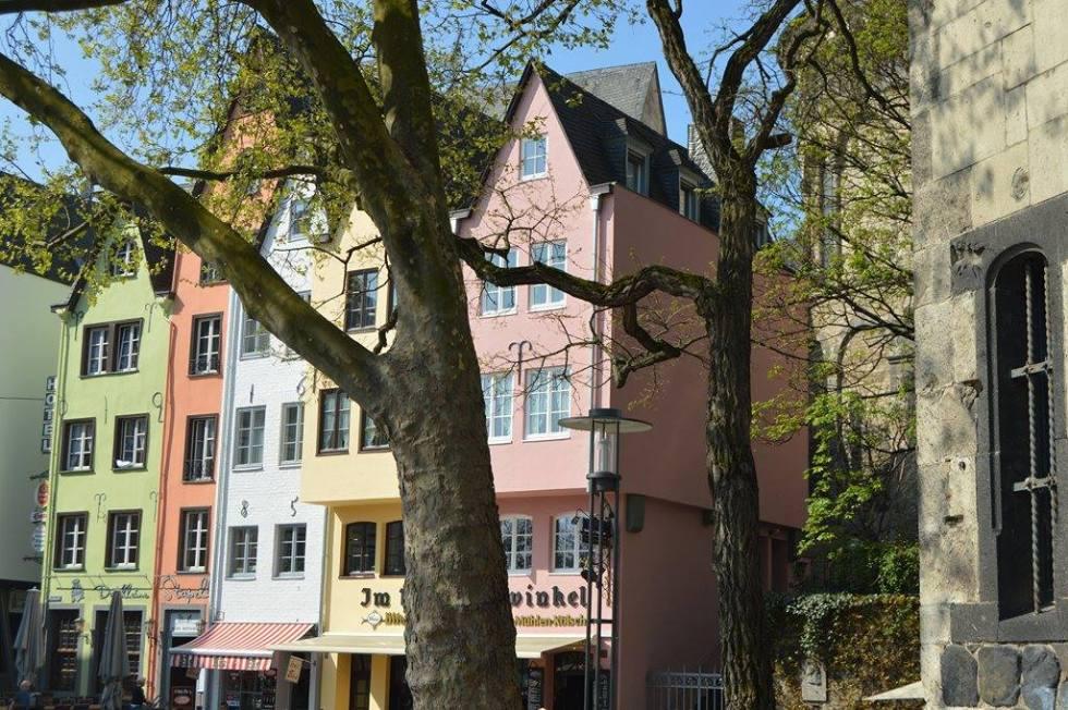 Häuserfront