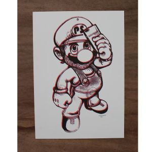 Mario In Brown By Planet Selfie