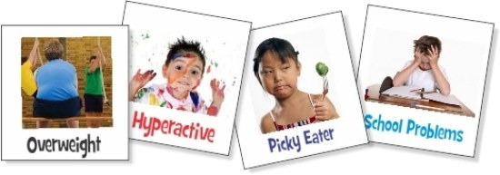 Picky Eater, Hyperactive, school problems--can be signs of allergies