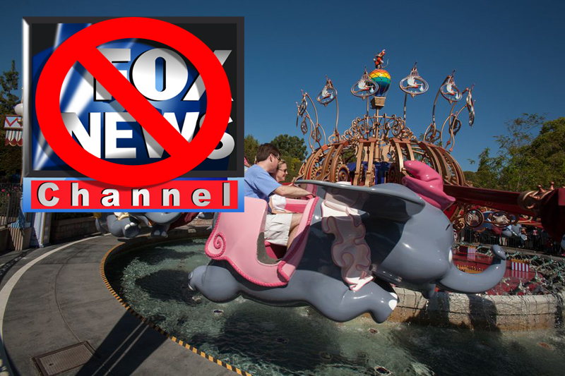 Disney Declined To Buy Fox News Because They Can't Afford Upkeep On Six Fantasylands