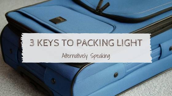 3 Keys to Packing Light