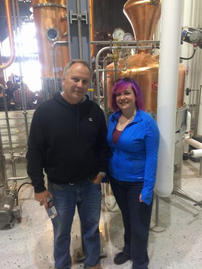 tom manherz, wolfhead distillery, distillery tour