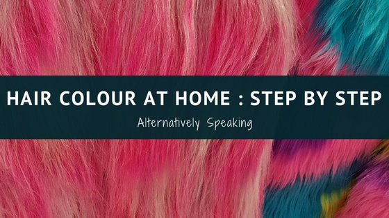 Hair Colour at Home : Step by Step