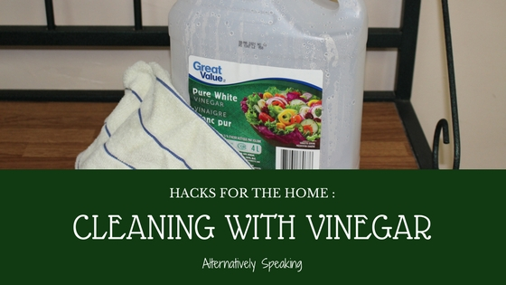 Hacks for the Home : Cleaning with Vinegar