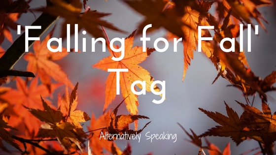 falling for fall, fall, autumn, blogger tag