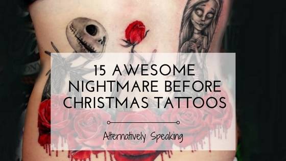15 Awesome Nightmare Before Christmas Tattoos
