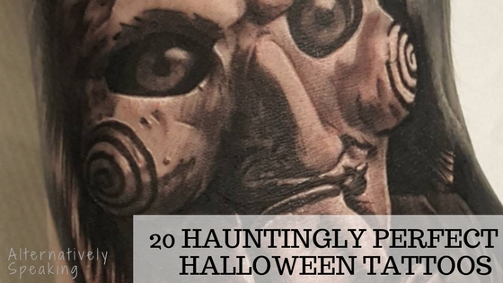 20 Hauntingly Perfect Halloween Tattoos
