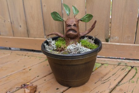 Harry Potter decorations, Harry Potter, mandrake root, DIY mandrake root, Hogwarts